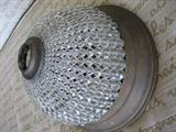 Antique Beaded Dome Light Fixture